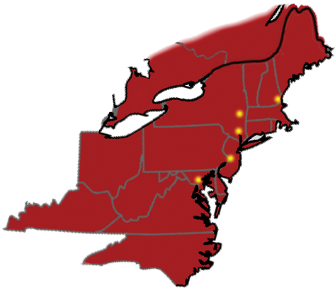 mid atlantic and new england trucking services